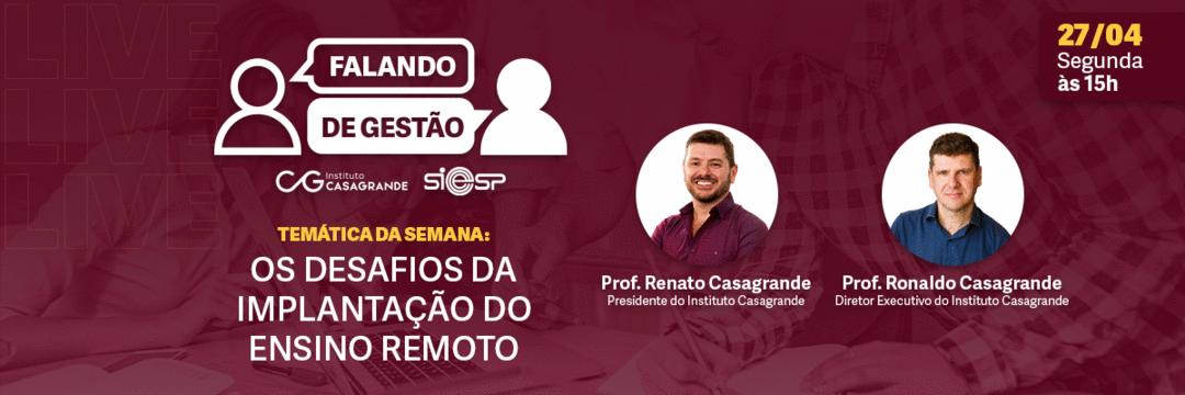 Live SIEESP - Falando de Gestão - 27/04