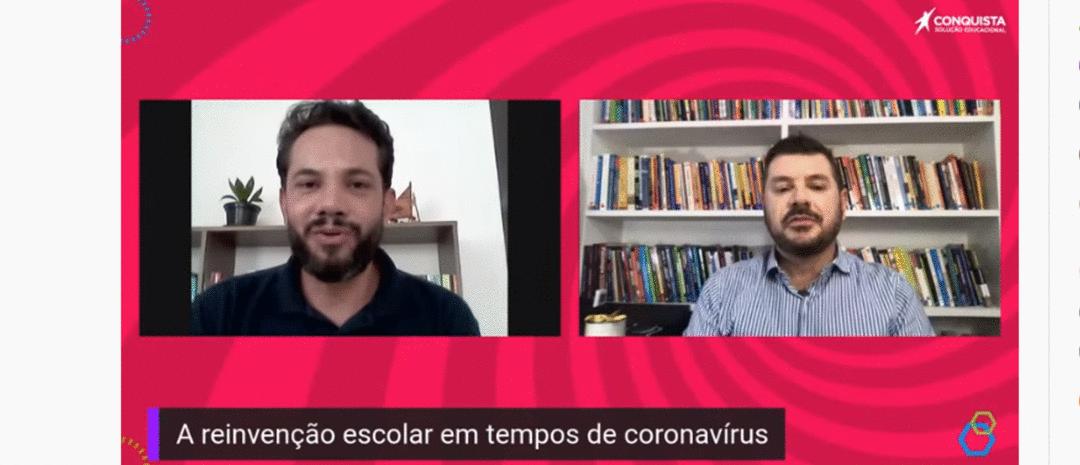 Lives da Conquista - A reinvenção escolar em tempos de Coronavírus.