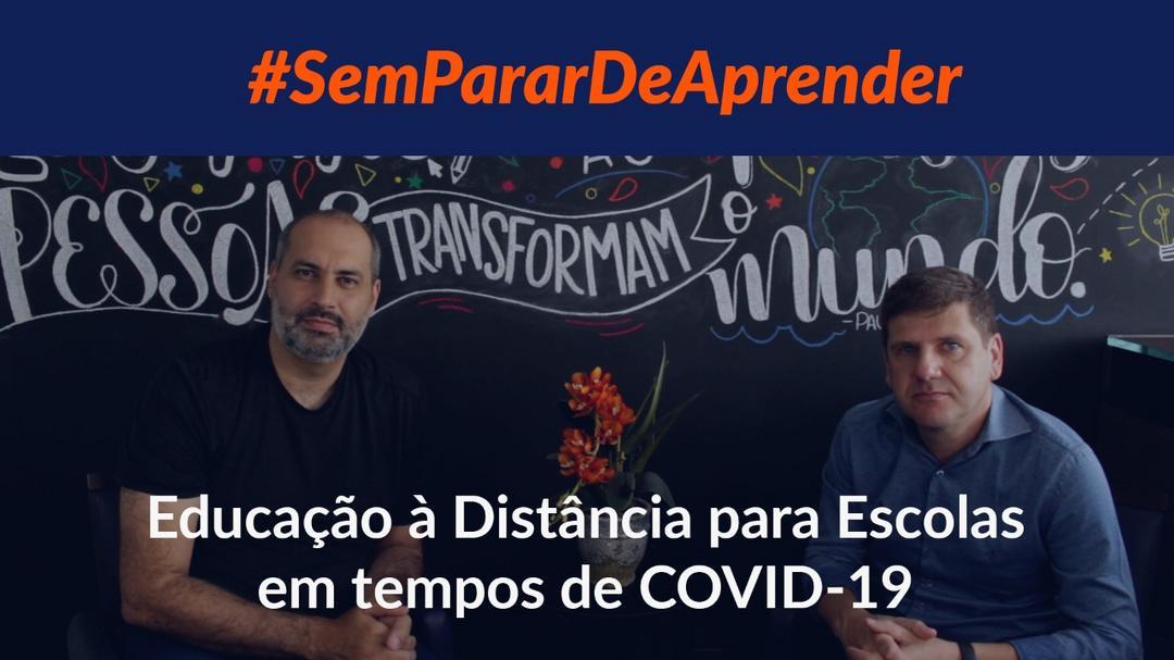 Educação à Distância para escolas em Tempos de COVID-19