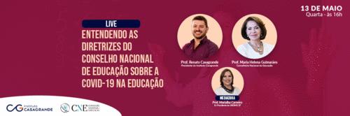 Live - Professora Maria Helena Guimarães - Conselheira do CNE